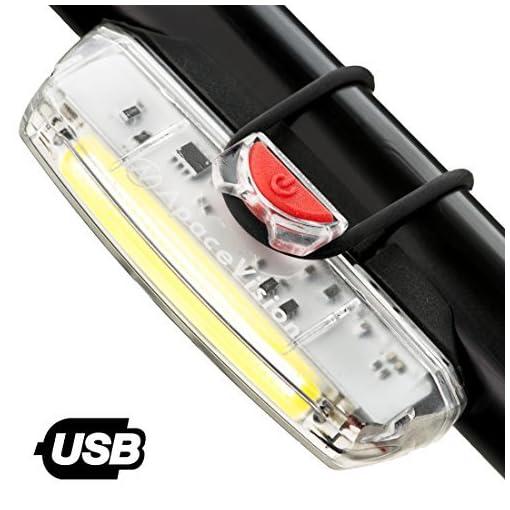 Apace Illuma ZT3000 Luce Anteriore USB Ricaricabile per Bicicletta