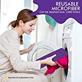 Vorfreude  Floor Mop with Integrated Spray and Lifetime Guarantee  Included Refillable 700Ml Capacity Bottle and Reusable Microfibre Pad from Vorfreude
