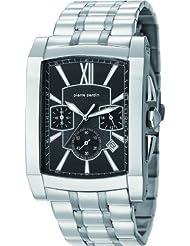 Pierre Cardin Herren-Armbanduhr Pont Des Arts Chronograph Quarz Edelstahl PC105411F04
