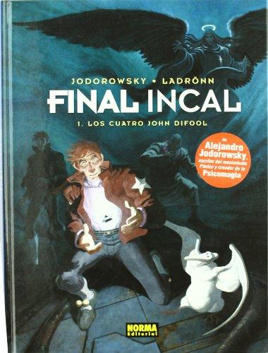 FINAL INCAL 1. LOS CUATRO JOHN DIFOOL (MOEBIUS) por Alejandro Jodorowsky