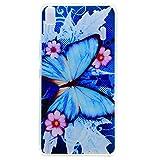 Para Lenovo K3 Note K50-t5 4G LTE (5,5 pulgadas) Cáscara ZeWoo® Carcasa y Funda de Silicona - XX036 / Mariposa azul