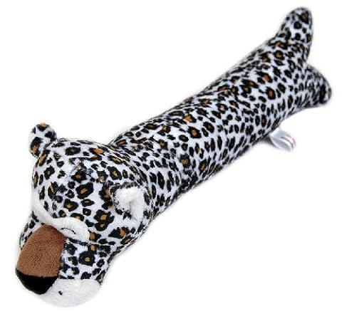 Animate Door Stop Squeaky Dog Toy (Design: Leopard)