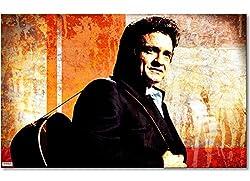 """WandbilderXXL® Gedrucktes Leinwandbild""""Johnny"""" 80x50cm - in 6 verschiedenen Größen. Fertig gespannt auf Holzkeilrahmen. Günstige Leinwanddrucke für Kinderzimmer Schlafzimmer."""