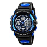Kids Outdoor Sport Watch Waterproof Swimming Led Digital Watches with Alarm Back Light