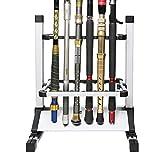 SANLIKE Halter Aluminiumrahmen Rack Angelrute Ständer Clips für ausgezeichneten Schutz Ihrer...