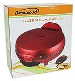 Brentwood TS-120Appliances Quesadilla Maker, Rouge