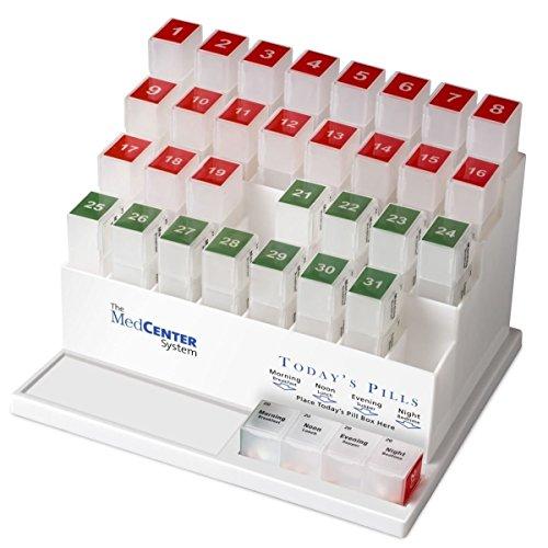 MedCenter 70256 31 Tag Monatlich Pill Organizer