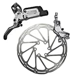 Sram Guide RSC-Hinten 1800mm Leitung Ohne Rotor/Adapter, 00.5018.098.003 Bremsen, Silber, One Size