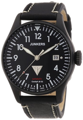 Junkers Men's Watch XL Analogue Automatic Leather 6152–2