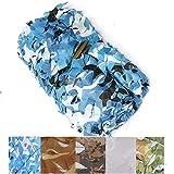 LYLXY Garden Sunshade Sail, Blaue Tarnung wasserdichte UV-Markise Markise Sonnencreme Ideal Für Outdoor-Terrassenparty-Gartenpool (Size : 3 * 4m)