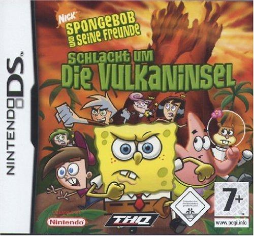 SpongeBob & Freunde - Schlacht um die Vulkaninsel (Nintendo Ds Nickelodeon Games)