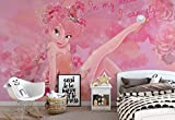 Disney Fairies Tinker Bell - Wallsticker Warehouse - Fototapete - Tapete - Fotomural - Mural Wandbild - (3233WM) - XXL - 312cm x 219cm - VLIES (EasyInstall) - 3 Pieces