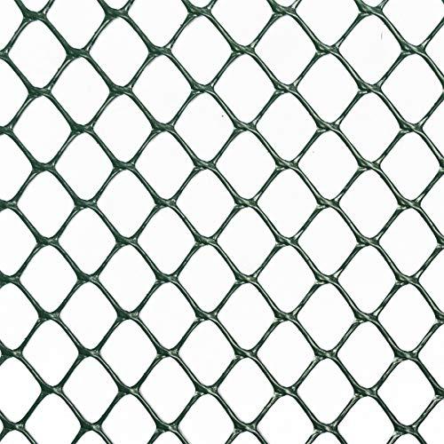 Vendita al Metro Colore: Nero 1,3 m/²,Resistente agli UV HaGa-Welt.de 600 g//m/² Rete per Proteggere Il Prato