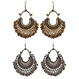 #4: Aabhu Fashionable Stylish Fancy Party Wear Traditional Combo of 2 Pair Earrings