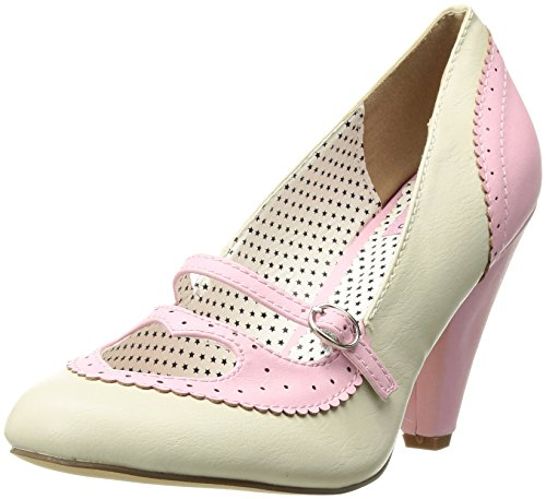 Pinup Couture Women's Poppy-18 Pump, Pink