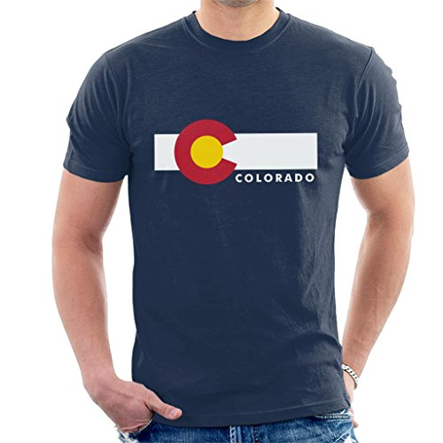 Colorado State Flag Men's T-Shirt