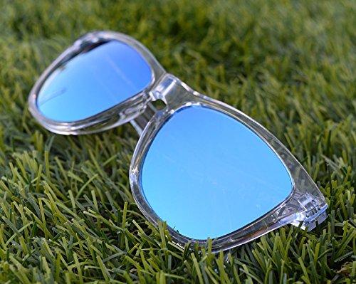 MZM Polarisierte Ersatzgläser für Oakley Frogskins (wählen Sie die Farbe) (Blau, Ice Blue)