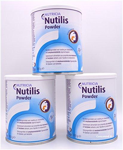 2 - 10 Nutricia Nutilis Powder 300g Dosen / Andickungsmittel - im exclusiven Consumed Produktbundle (3) (Pürierte Lebensmittel)