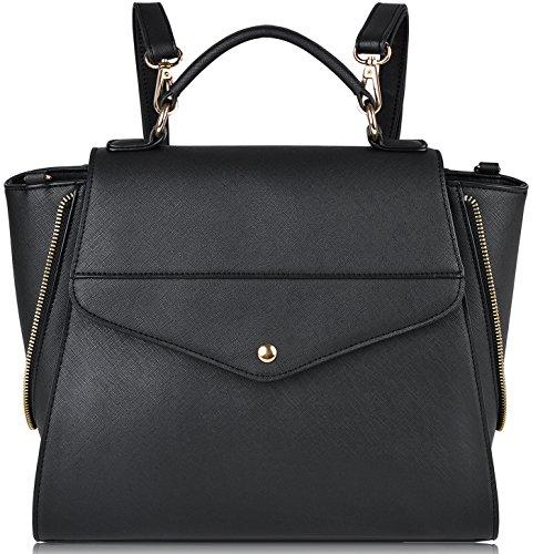 Damen Rucksack,COOFIT Leder Rucksack für Schulrucksäcke PU Leder Schultasche Casual Daypack Tasche Schulranzen Handtaschen