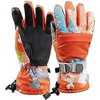 3ef7f1d58ba0c Arcweg Invierno Guantes de Esquí Mujer Impermeable Pantalla Tactíl Dedos  Completos Caliente Térmicos Prueba de Agua