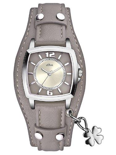 s.Oliver Damen-Armbanduhr Analog Quarz SO-2512-LQ