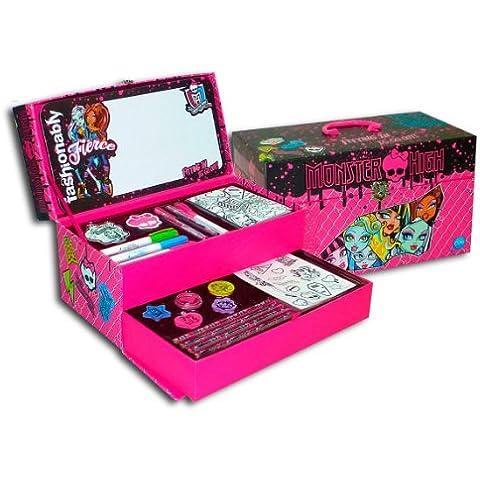 Color Me Mine 45901 - Maletín Fantasía Pizarra Monster High (Cife)