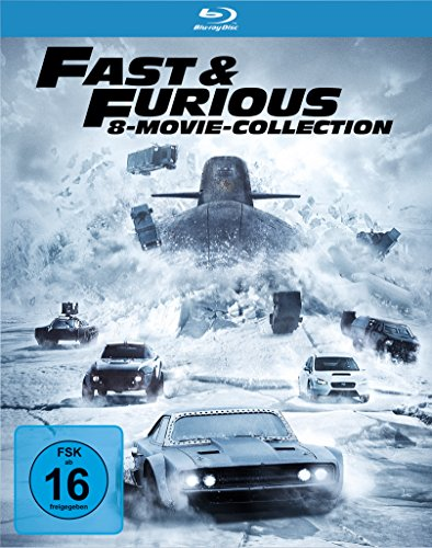 Bild von Fast & Furious - 8 Movie Collection [Blu-ray]