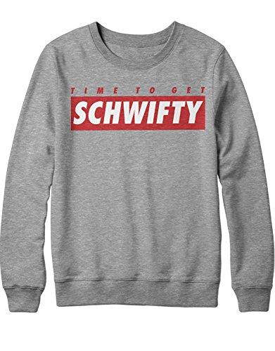 Sweatshirt Rick & Morty Supreme Style