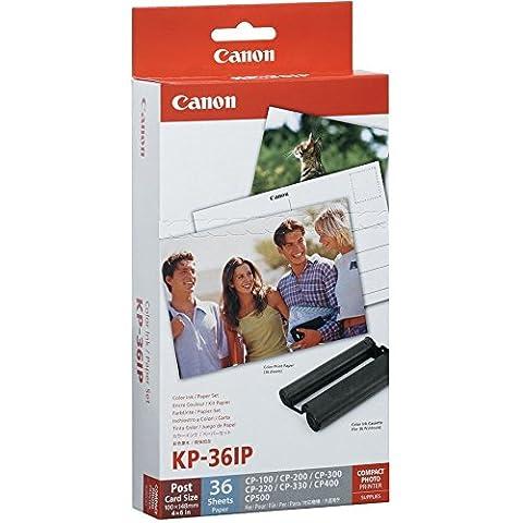 Original Canon Inking Kit + InkJet-Papier 7737A001 / KP36IP ;