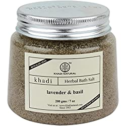Khadi Lavender and Basil Bath Salt, 200g