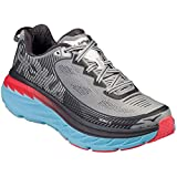 HOKA ONE ONE Women's Bondi 5 High/Rise/Dubarry Running Shoe 6.5 Women US