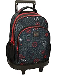 Roll Road Go Mochila Tipo Casual, 43 cm, 28.90 Litros, Multicolor