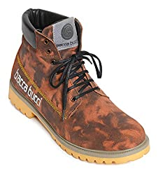 Bacca Bucci Mens Brown Boots - 8 UK, BBMA2138R