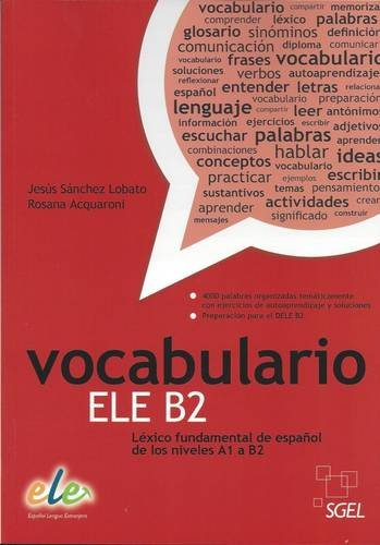 Vocabulario ELE B2 por Jesús Sánchez Lobato
