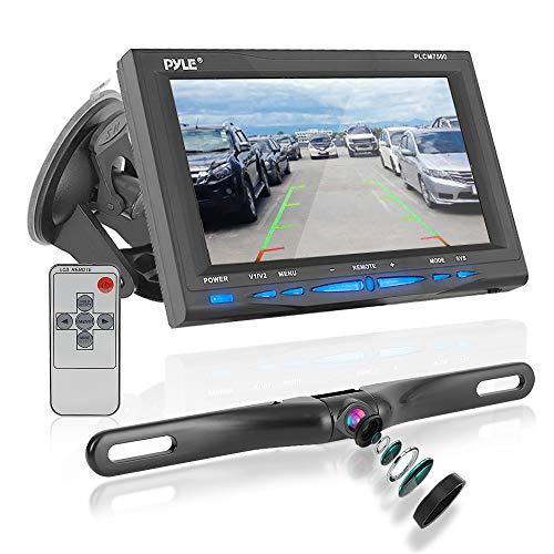 Pyle Fenster Saughalterung TFT/LCD-Videomonitor Rückfahrunterstützungsfarbkamera 17,8 cm (7 Zoll) Lcd-composite-video