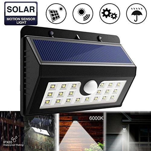 Solarenergie -Mrulic Mauer Leichte Sicherheit Motion Wetterfesten Outdoor - Lampe Licht Outdoor / Garten / Hof / Mauer Und Zaun / Pfad Lampe (B)