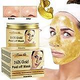 24k Gold Face Mask, Blackhead Mask, Peel Off Face Masks, Blackhead Remover Masks