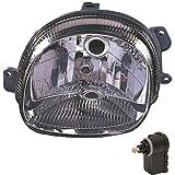 Halogen Scheinwerfer links RENAULT TWINGO (C06_) 03.93- inkl. Motor H4 1395686