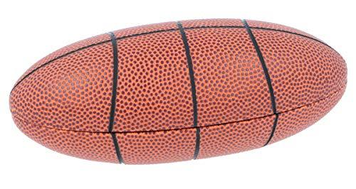 cooles Brillenetui als Football - Hartschale Basketball