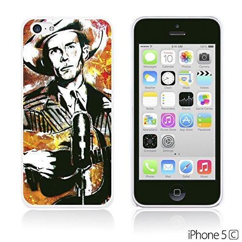 OBiDi - Celebrity Star Hard Back Case / Housse pour Apple iPhone 5C - Elvis Presley Pop Art Hank Williams