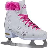 SFR Skates Snowflake Patines Sobre Hielo, Unisex Niños, Rosa (Pink), 30.5 EU
