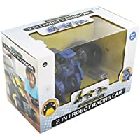 2 in 1 Robot Racing Car - Black - Compare prices on radiocontrollers.eu