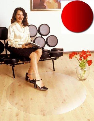 Floordirekt PRO Bodenschutzmatte - 90cm - rund - für Hartböden