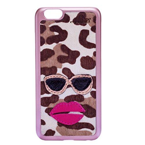 mabba® iPhone Hülle für das iPhone 6 6s aus Leder -mabba Lou- Handmade,rosa rosa