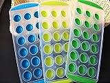 Best Ice Pop Moisissures - Efbock Facile Poussez Pop out Mini Moules à Review