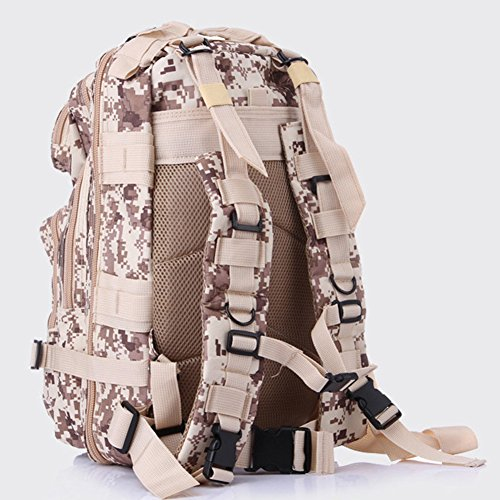 E Support™ Outdoor Wasserdicht Molle Taktische Rucksack Pack Camping Reise Rucksack Bergsteigen Klettern Rucksack Digitale Wüste