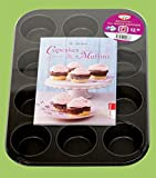 Muffin-Set mit Backform (Buch Plus)