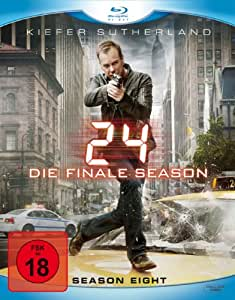 24 - Season 8/Box-Set - Ungeschnittene Originalfassung [Blu-ray]