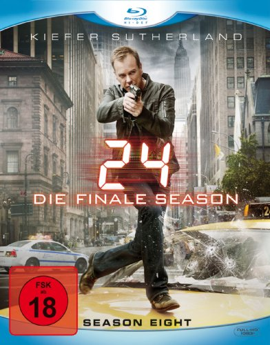 24 – Season 8/Box-Set – Ungeschnittene Originalfassung [Alemania] [Blu-ray] 51Mu7IkRwAL