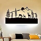OYHBV Schwarz Acryl Kreative Moderne LED Wandleuchte Für Wohnzimmer Neben Schlafzimmer Lampen LED Wandleuchte Wandleuchte LED